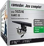 Rameder Attelage rotule démontable pour Suzuki IGNIS III + Faisceau 7 Broches...