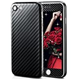 LCHULLE 2 Pack iPhone 6 / 6S hülle 4,7 Zoll, Carbon Fiber Line Soft PP Ultra Slim Back Case + Ultra Glatte Textur Vollbildschirm, 2in1 Shockproof Stoßschutz Schutzhülle