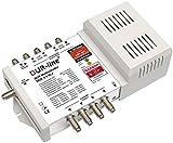 DUR-Line DCR 5-1-8-L4 SCR-Schalter - Einkabellösung für 8 SCR-Teilnehmer + 4 Legacy Ausgänge - 2X Testsehr Gut