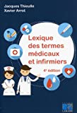 Lexique des termes médicaux et infirmiers