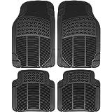Vocado Rubber Standard Mat for Maruti Suzuki Alto (Black)