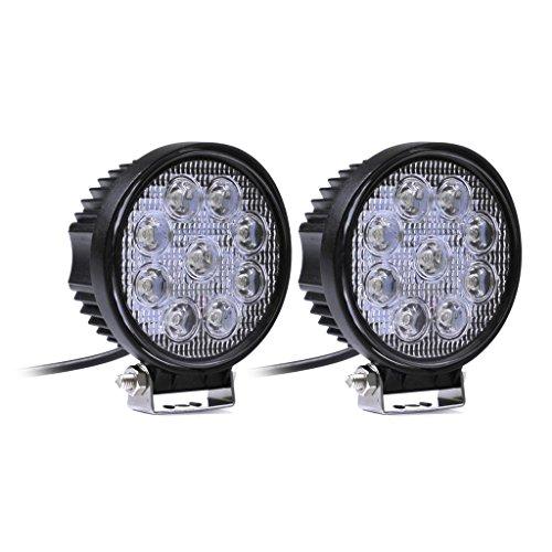 2 X 27W Pleins feux LED faisceau de la lampe de travail sur les véhicules hors route Camion JEEP ATV SUV