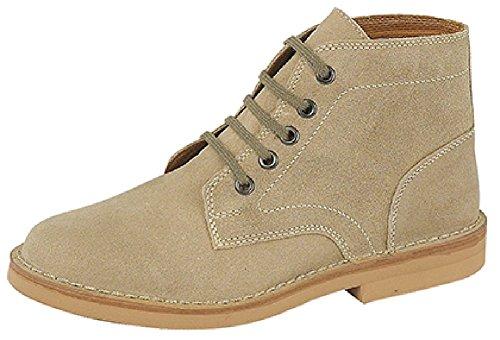 Roamer - Botas para mujer Beige beige, color Beige, talla 39.5