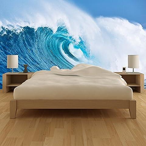 Géant Ocean Wave Seascape Beach murale Surf Paradise photo Wallpaper disponible en 8 tailles Gigantesque Numérique