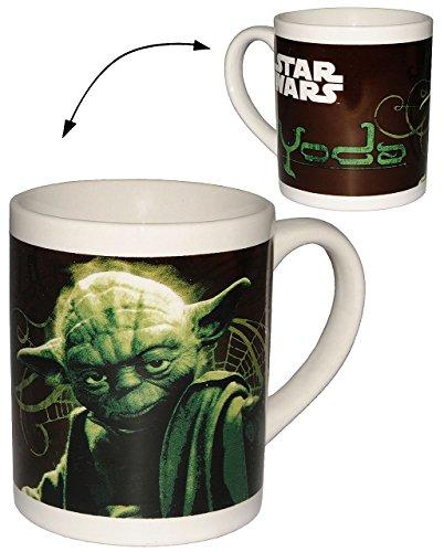 Unbekannt Henkeltasse -  Star Wars - Yoda  - Porzellan / Keramik - Trinktasse mit Henkel / Tasse...