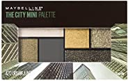 Maybelline New York City Mini Palette Eye Shadows, Urban Jungle, 6.1g