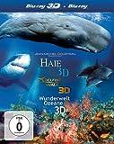 IMAX: 3D-Box (Delfine und Wale, Haie, Weltwunder der Ozeane) [3D Blu-ray]