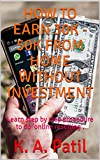 How to earn 30K - 50K from home without investment: Learn step by step procedure to do 'online reselling'. (Money making ways Book 1)