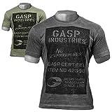 GASP Broad Street Print Tee - Fitness und Workout T-Shirt