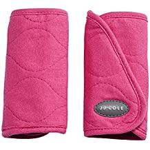 JJ Cole Reversible Infant Baby Car Seat Stroller Belt Strap Covers Sassy Pink