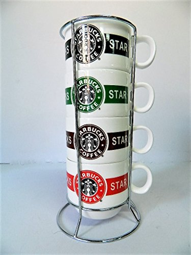 support-metal-service-4-tasses-cafe-empilable-starbucks-coffee-mug