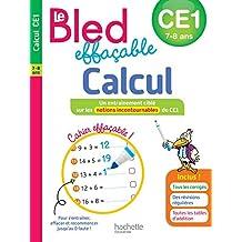 Bled effaçable Calcul CE1