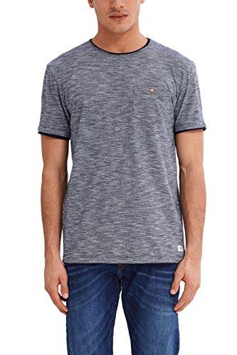 edc by ESPRIT Herren T-Shirt 037cc2k012 Blau (Navy 400)