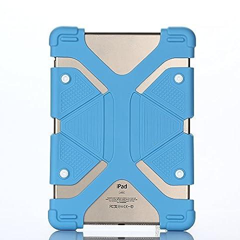 Coque Tablette 9 Pouces - Lightweight Silicone Case Coque pour Universal 8.9-12