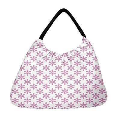 Snoogg Colorful Mixed Circles Beach Tote Shopper Bag Handbag Shoulder