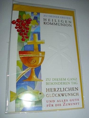 chkarte Geschenkskarte zur heiligen Kommunion Geldkarte