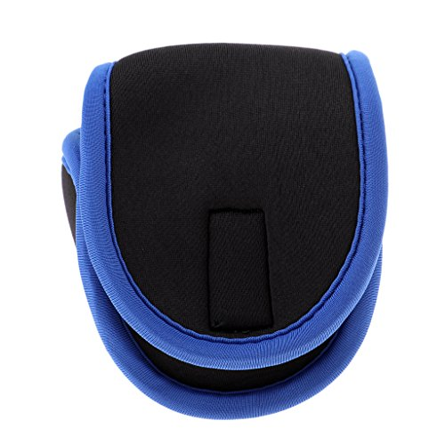 D DOLITY 1 Stücke Angelrolle Tasche Neopren Rollenschutz Angelrolle Fliegenrolle Abdeckung