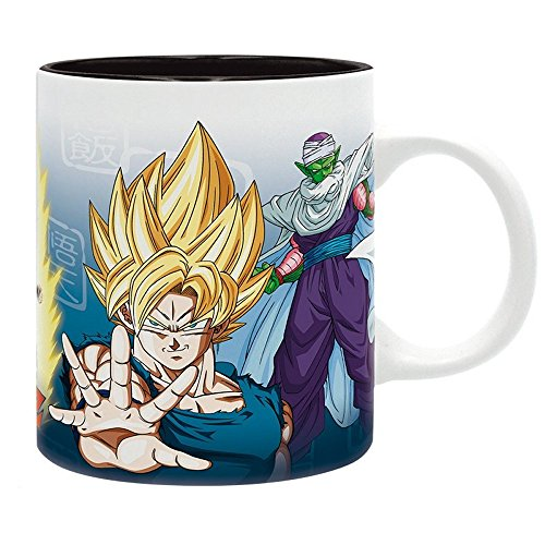 ik Tasse - Son Goku & Vegeta - Super Saiyajin Vs. Piccolo - Geschenkbox (Vegeta Super Saiyajin Kostüm)