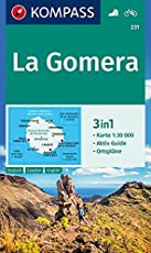 La Gomera: 3in1 Wanderkarte 1:30000 mit Aktiv Guide und Ortsplänen. Fahrradfahren. (KOMPASS-Wanderkarten, Band 231)