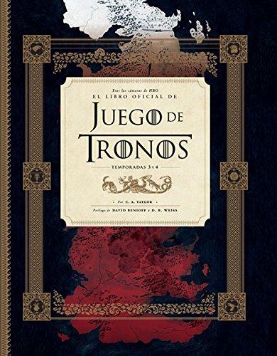 Tras las cámaras de HBO: El libro oficial de juego tronos temporadas 3 y 4