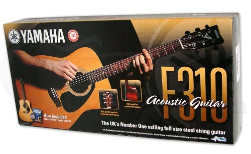 Yamaha F310 Akustikgitarre, Anfänger-Set - 15