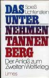 Das Unternehmen Tannenberg