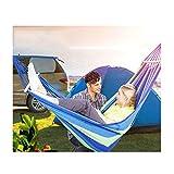 Hängematte LXJT Outdoor Freizeit Hängen Stuhl Einzelne oder Doppelte Person Verdickte Leinwand Camping Schaukel Im Kinderheim (größe : B-200 * 150cm)