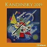 Kandinsky 2019 - Kunstkalender, Wandkalender, Broschürenkalender, Surrealismus 2019  -  30 x 30 cm
