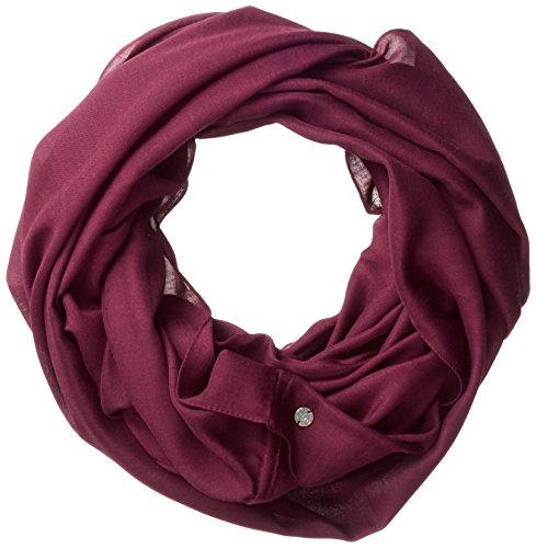 ESPRIT Accessoires Damen Schal 997EA1Q803, Rot (Bordeaux Red 600), One Size