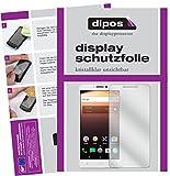 dipos I 2X Schutzfolie klar passend für Alcatel A3 XL Folie Bildschirmschutzfolie
