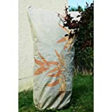 Videx-Winterschutz Mega Vlieshaube Bambus, beige/ocker, (50g/ qm), 180 x 120cm