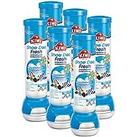 KIWI - Fresh Force - Desodorante para zapatos, aroma fresco, 6 botes de 100 ml