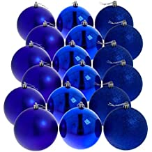 Weihnachtskugeln Blau.Suchergebnis Auf Amazon De Für Blaue Christbaumkugeln