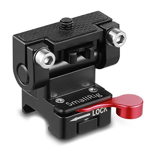 Kamera-mount-system (SMALLRIG Monitor Halterung/Kamera Field Monitor Mount mit der NATO Clamp Adaptor und Verstellbar Drehbar Axis Reibung bis 180° Neigbar für Support System der Unterschiedliche Shooting Szenarien 2100)