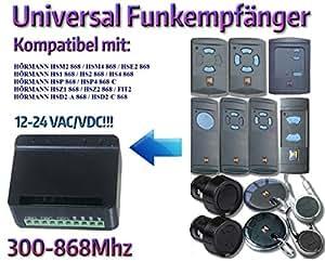 Universal Funkempfänger kompatibel mit Hörmann HS1 / HS2