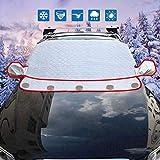 XYQCPJ Auto Windschutzscheibe Magnetabdeckung Schnee Mit Rückspiegelabdeckung Frostabdeckung Sonne, UV, Wasserdicht, Winddicht Geeignet für die meisten Autos