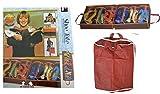 Schuhtasche von all-around24® Schuhbox Schuhe Tasche Aufbewahrungsbox (1Stück)