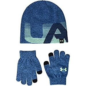 Under Armour Kinder Boy's Beanie/Glove Combo Mütze