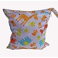 Koly La bolsa de orina bebé impermeable especial sola cremallera bolsa de almacenamiento, 11 colores,B