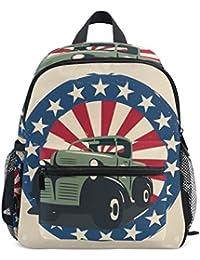 Preisvergleich für COOSUN Veterans Day Badge Mini Kinderrucksack Pre-School Kindergarten Kleinkind-Tasche Mehrfarbig