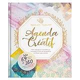 Agenda Créatif 4-en-1 - Un Agenda 2019 2020 Semainier avec un mélange unique d'Agenda, Bullet Journal, Coloriage Adulte et Journal Intime au format 18,5x22cm par Colorya