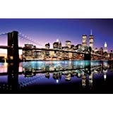Brooklyn Bridge - Colour - Maxi Poster - 61 cm x 91.5 cm