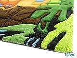 Dschungel HEVO® Handtuft Teppich | Kinderteppich | Spielteppich | Oeko Tex 100 150x220 cm Vergleich