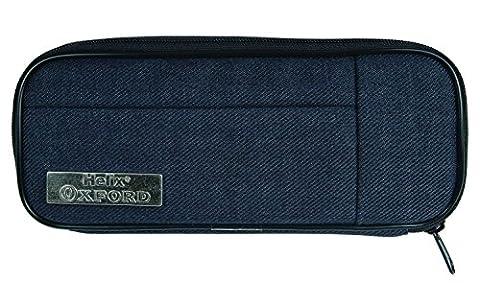 Helix Oxford 934220Tampon Trousse à crayons en métal