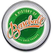 The History of Baseball (Highbridge Distribution) by Greg Proops (2003-04-14)