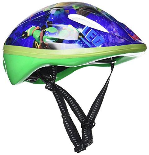 Helm Ninja Turtle Disney für Kinder bis zu 10Jahren 52?56cm Fahrrad ()