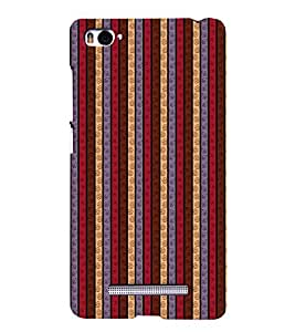 Colorful Line Pattern Case Back Case Cover for Xiaomi Mi 5