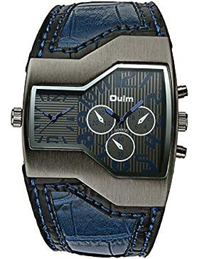Herren Uhren Groß Militär Wasserdicht Dual Display Shock Resistant Mode Einzigartig Design Armbanduhr Männer Business...