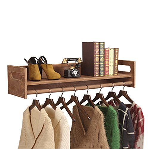 Zzbbzz Yj Dika Uk Wall Coat Racks Vintage Wall Wooden Display Stand