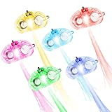 LED Fiber Hair Light Up Hair Barrettes Set of 18, MAXIN Muliticolor Flash Barrettes Clip Braid- Party Favor